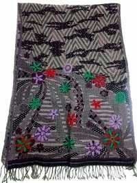 Boiled wool Embroidery Shawls