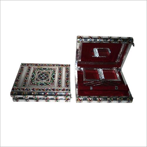 Silver Handicraft Jewellery Box