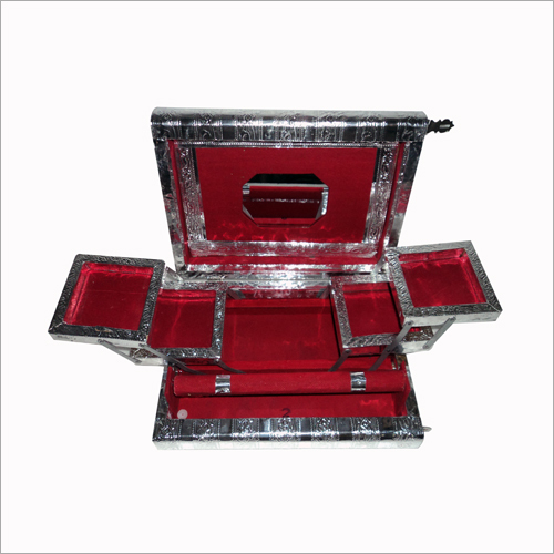 Silver Handicraft Jewellery Box