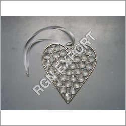 Beads Hanging Heart
