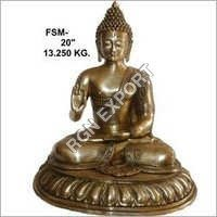 Brass Buddha Antique