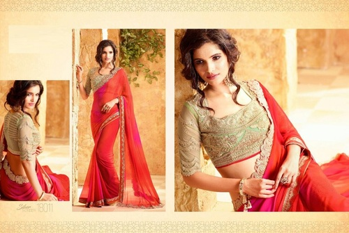 Buy Designer Party Wear Saree Online