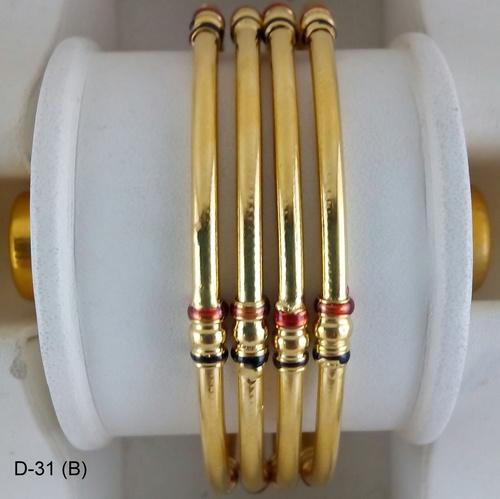 Gold Plated Designer Fancy Bangles