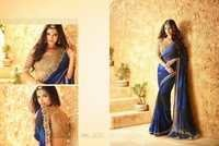 Shop Georgette Party Wear Saree Online