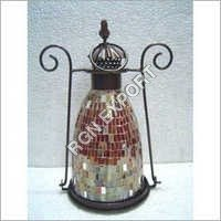 Mosaic Decorative Glass Lantern