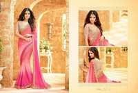 Buy Beautiful Georgette Saree Of Pink Shades Online