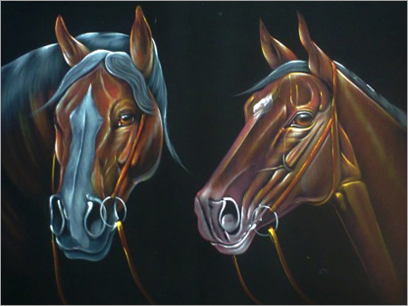 Horses Painting