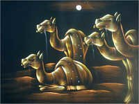 Camels Painting