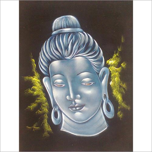 Buddha Face Painting