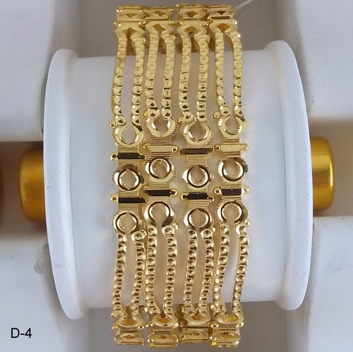 Goldplated Fancy Bangle
