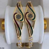 Gold Plated Finely Polished Bangles