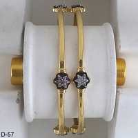 Gold Plated Trendy Bangles