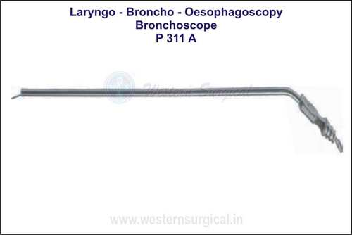 Bronchoscope Suction Tubes