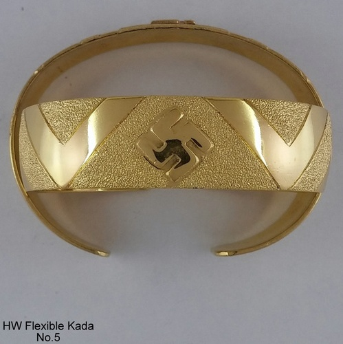 Gold Plated Charming Flexible Kada