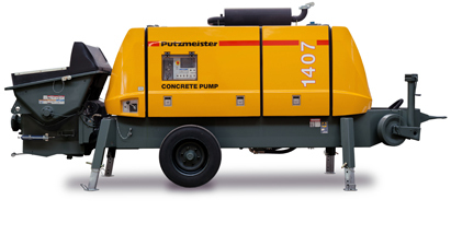 Putzmeister concrete pump 1407