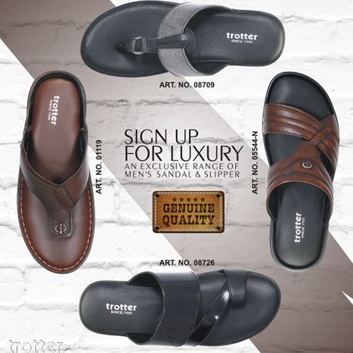 Mens Leather Slippers In Gwalior