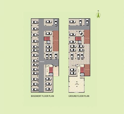 ESAR LEGACY BASEMENT & GROUND FLOOR PLAN