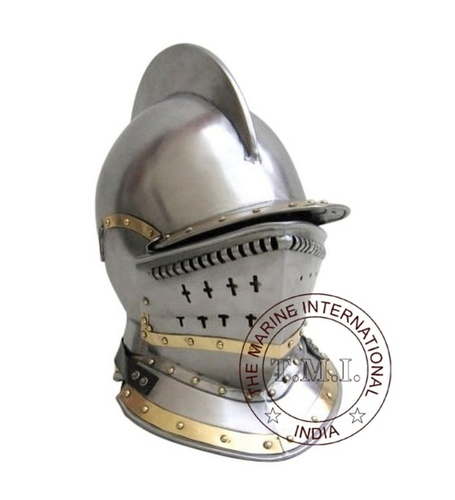 Knight Bergonet Armour Helmet