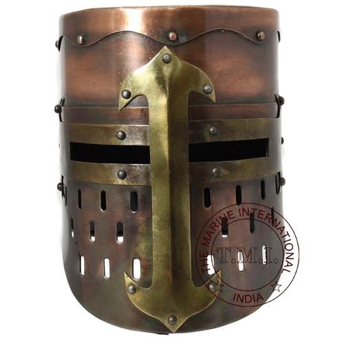 Antique Medieval Knight Helmet