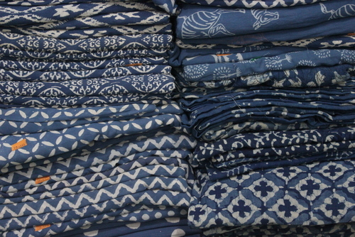 Indigo Blue Fabric