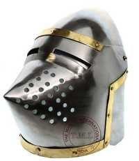 Medieval Bascinet Helmet