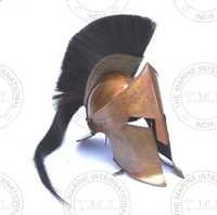 300 King Leonidas Helmet With Plume