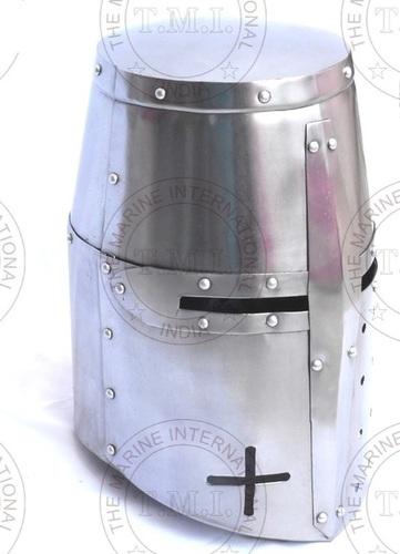 Medieval Knight Crusader Helmet