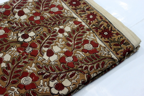 Kalamkari Print Cotton Fabric