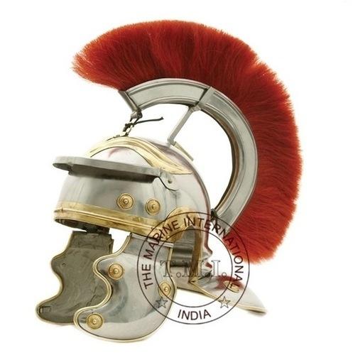 Roman Gaurd Centurion Helmet With Red Plume