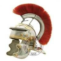 Roman Gaurd Centurion Helmet With Red Plume
