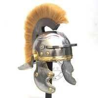 Roman Centurion Helmet With White Plume