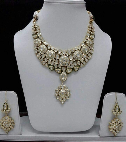 Kundan Jadau Designer Gold Necklace