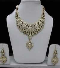 Kundan Jadau Designer Gold Necklace