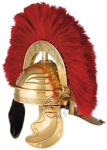 Roman Brass Imperial Gallic Helmet