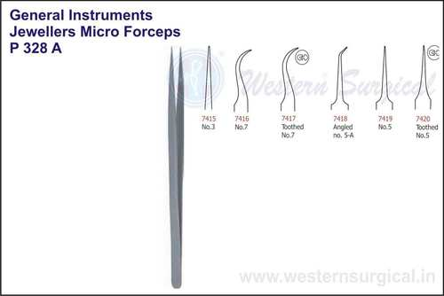 Jewellers Micro Forceps No.3