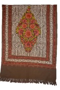 Woolen Aari Indian Shawls