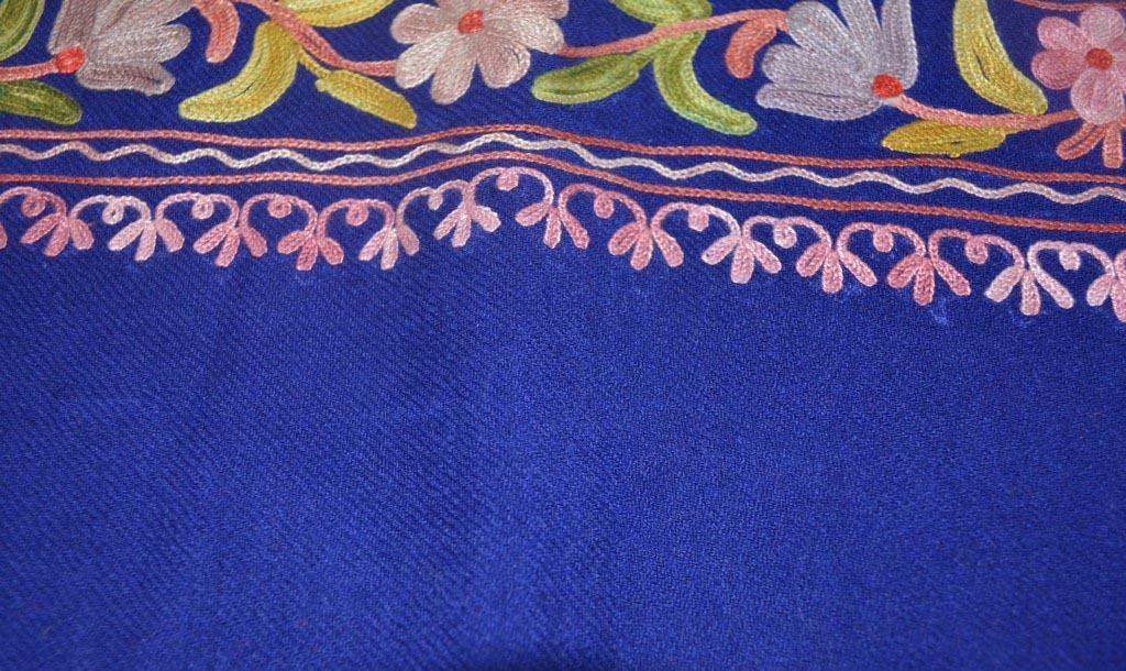 Woolen Designer Embroidery Shawls