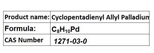 Cyclopentadienyl Allyl Palladium