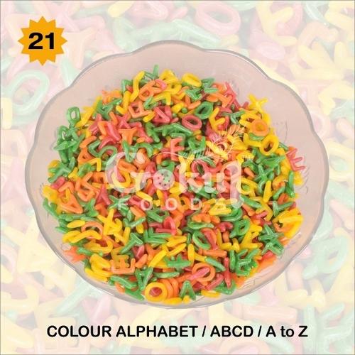 Colour Alphabet Fryums