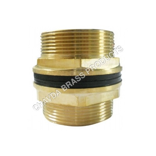 Brass Threaded Tank Connector