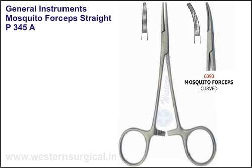 Mosquito Forceps Straight & Curved