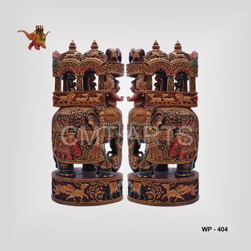 Wooden Painted Ambawari