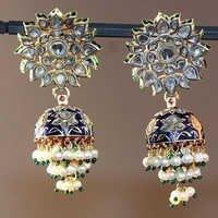 Polki Ladies Earrings