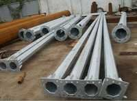 Hot Dip Galvanizing Lighting Poles