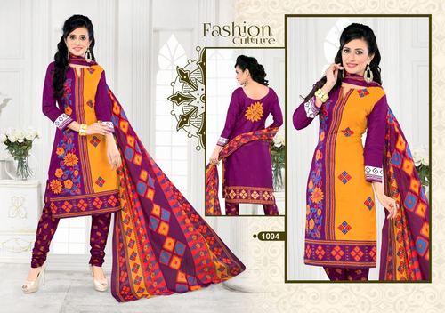 Printed Cotton suits Jetpur