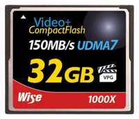 CF-32 GB 1000X150MB/s UDMA-7
