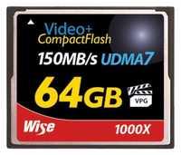 CF-64 GB 1000X150MB/s UDMA-7