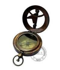 Antique Nautical Sundial Compass