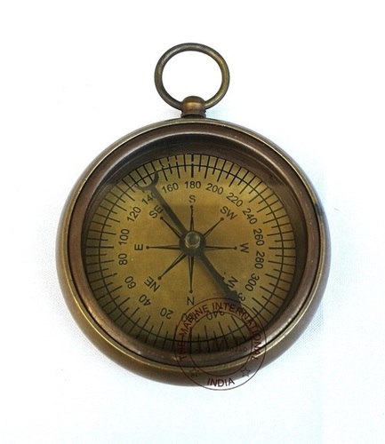 Antique Flat Compass