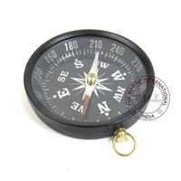 Black Antique Flat Compass